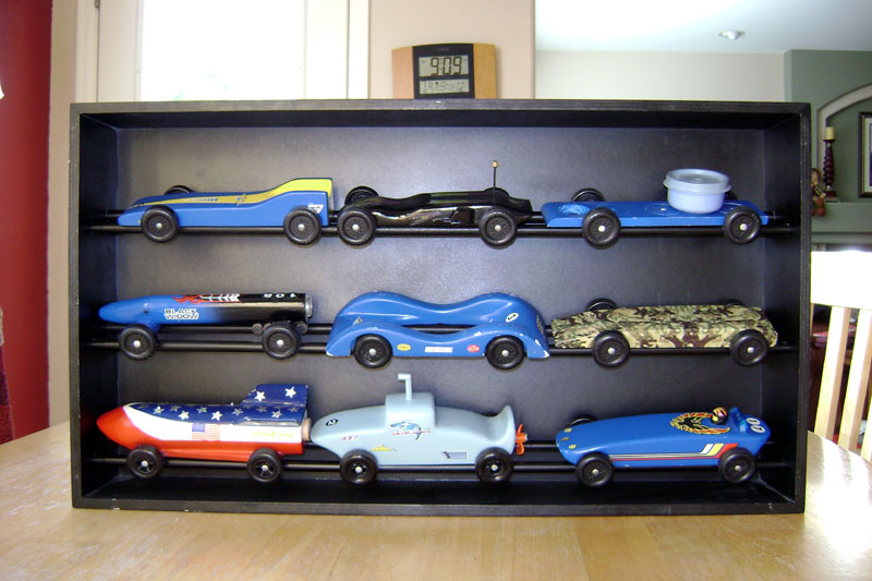 Car Display Case Plans Derby Talk Classy Pinewood Derby Display Stand Plans
